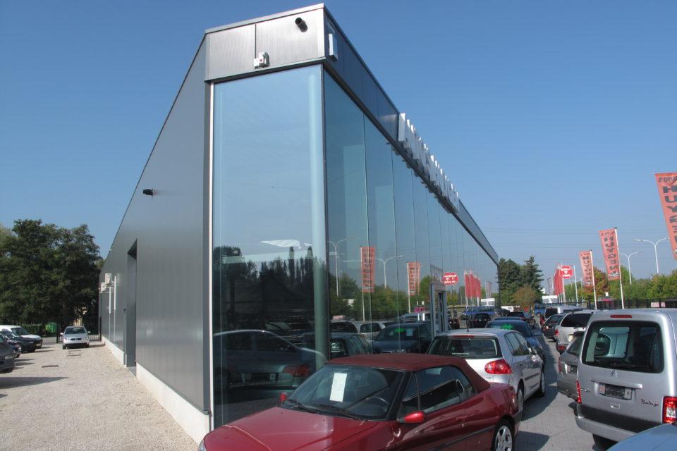 Almobe industriebouw - Auto's Huygen - Lier