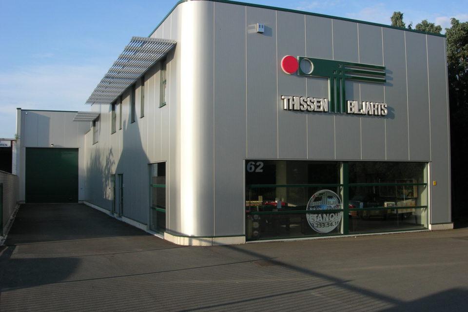 Almobe industriebouw - Biljarts Thissen - Wommelgem