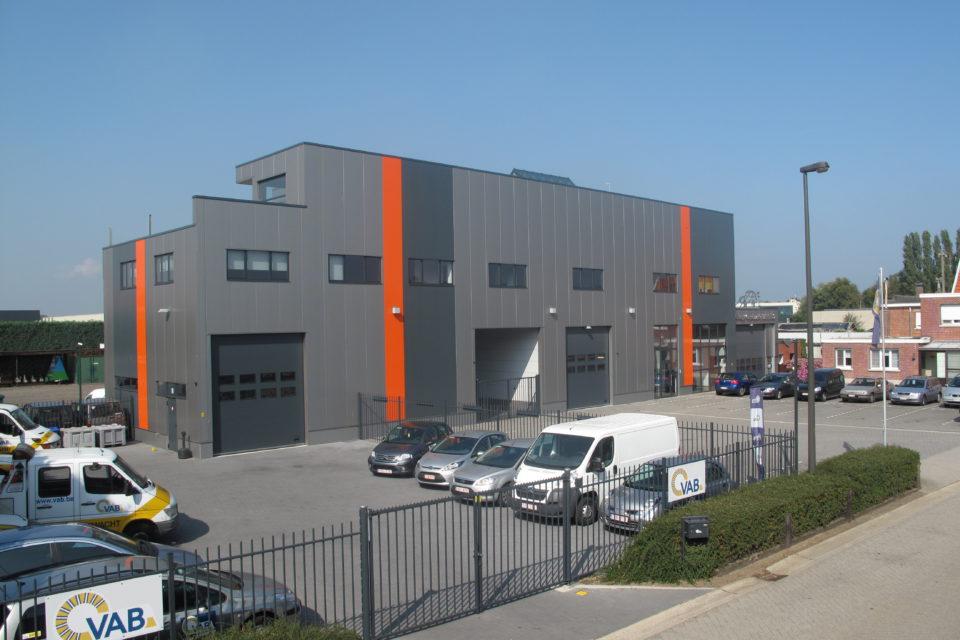 Almobe industriebouw - Garage Bertels - Wommelgem