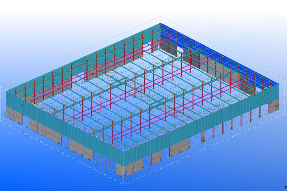 Almobe industriebouw - JB Construct - Lier (2)