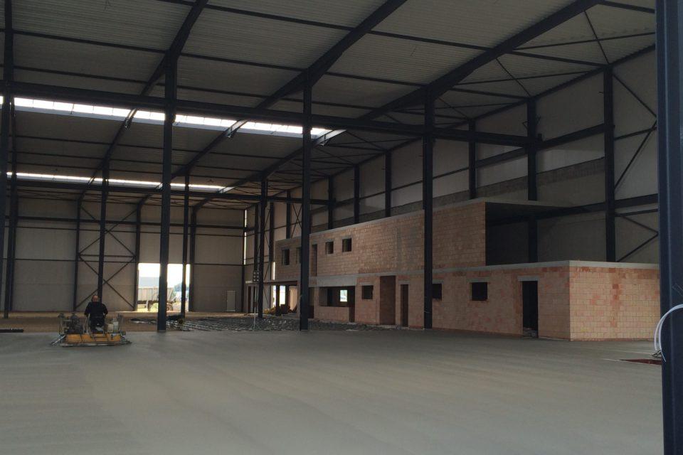 Almobe industriebouw - JB Construct - Lier (9)