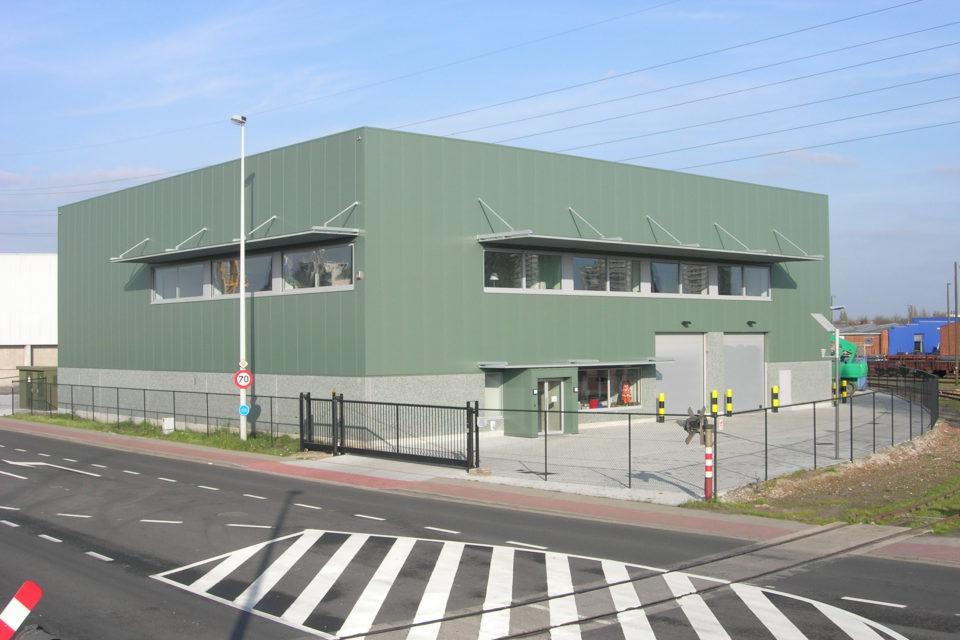 Almobe industriebouw - SKB - Antwerpen