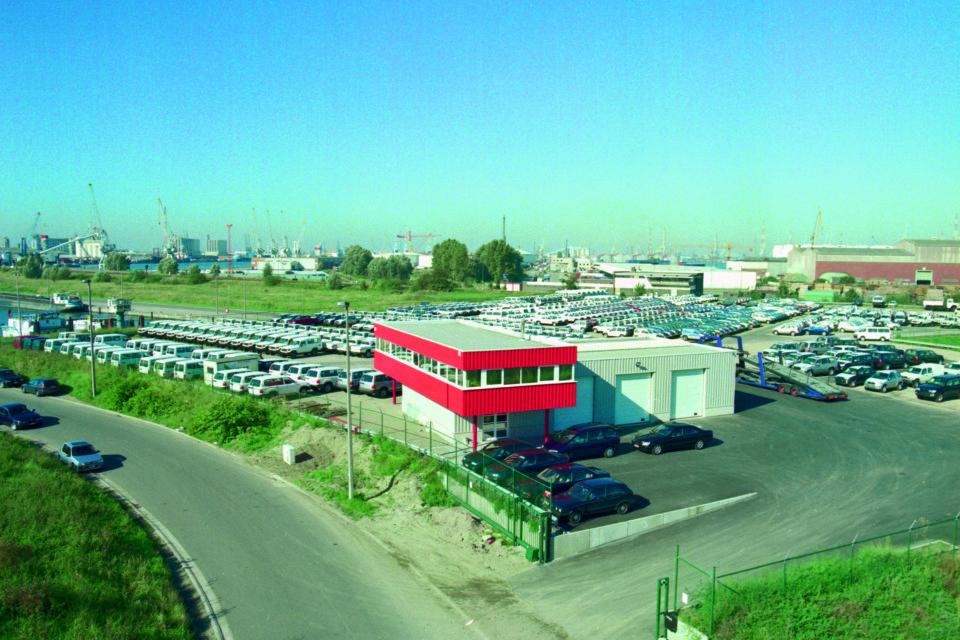 Almobe industriebouw - Transco - Haven Van Antwerpen