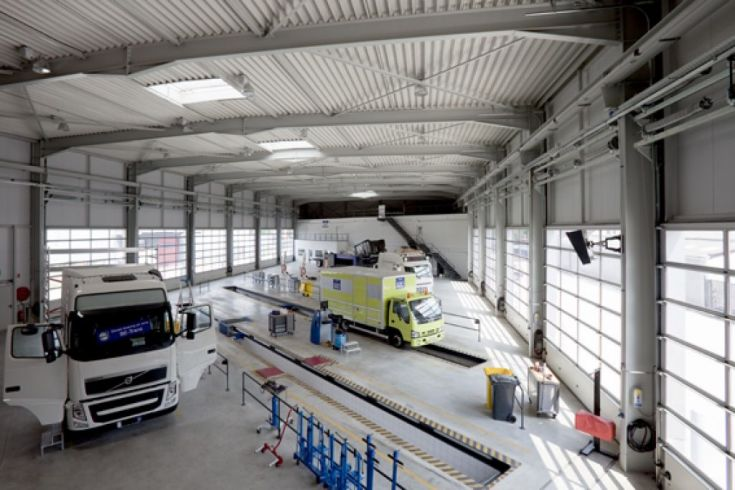 Almobe industriebouw - Volvo Kant - Olen 1