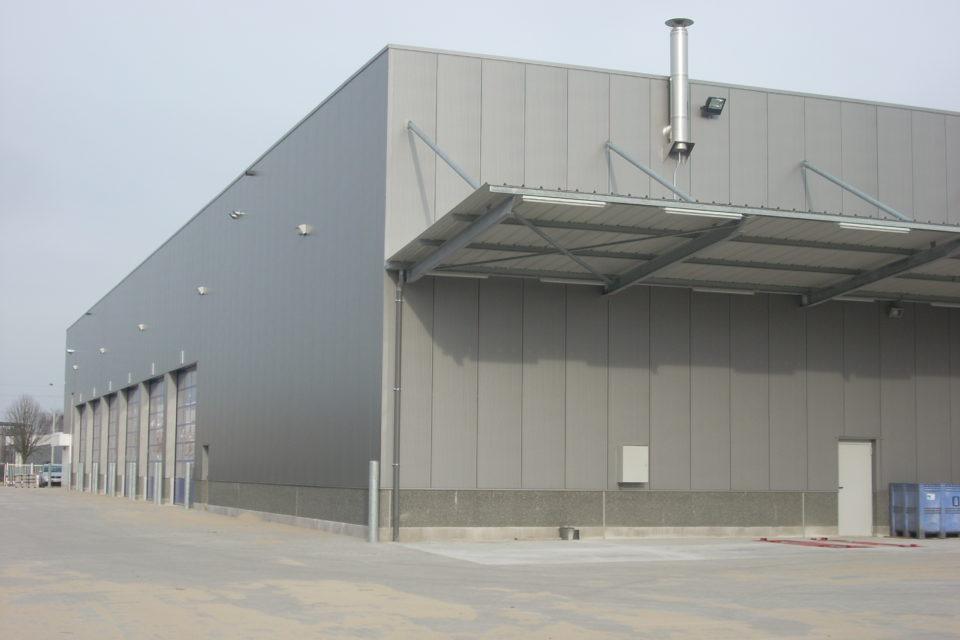 Almobé Industriebouw - Garage Kant Olen (2)