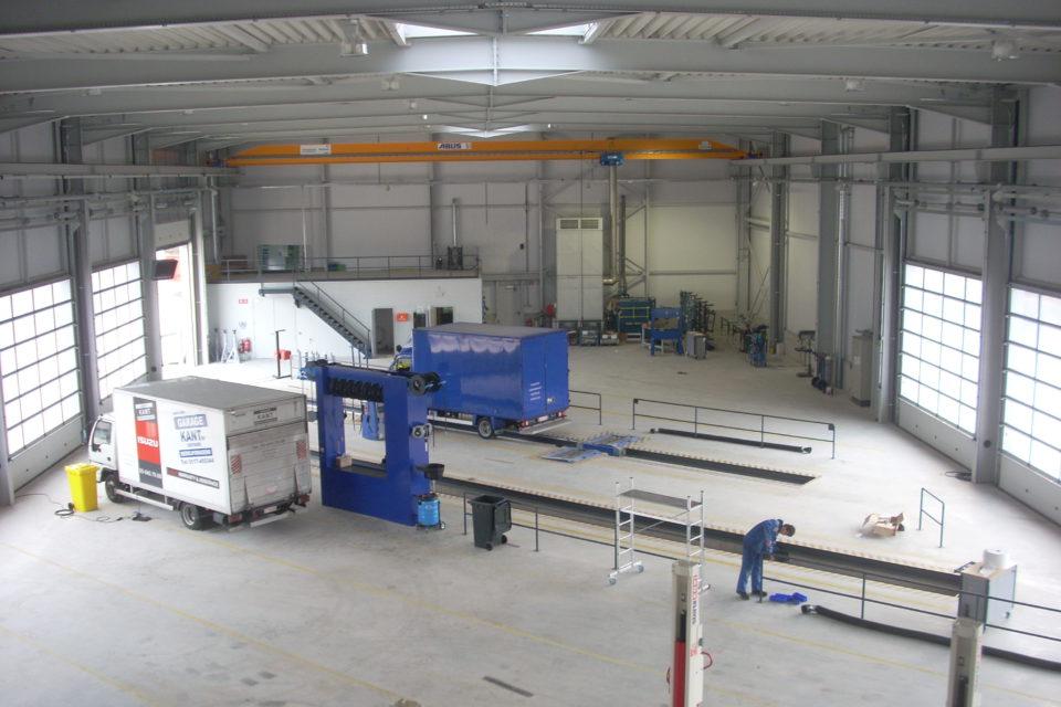 Almobé Industriebouw - Garage Kant Olen (3)