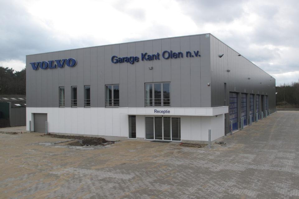 Almobé Industriebouw - Garage Kant Olen (4)