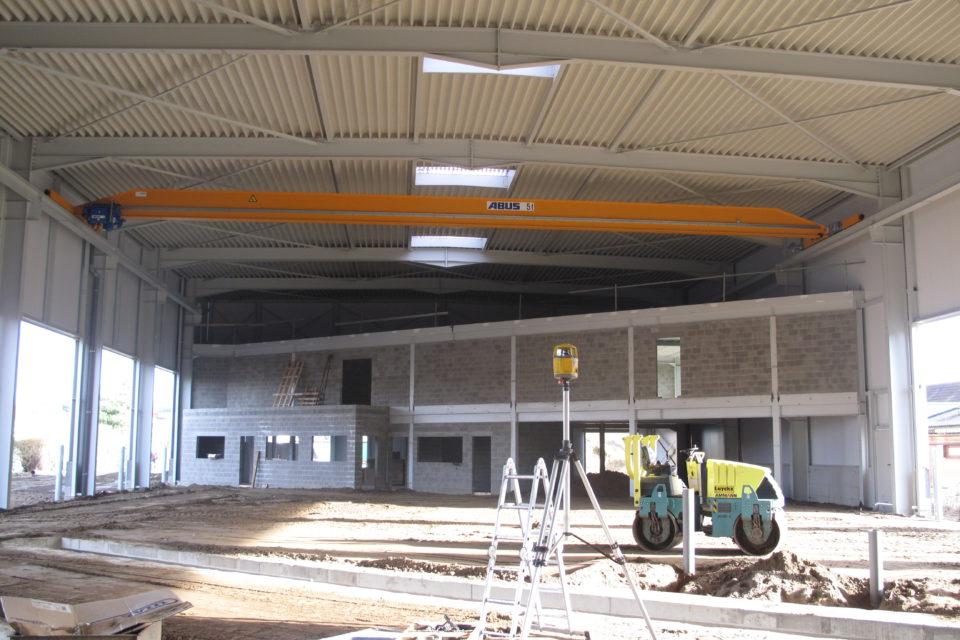 Almobé Industriebouw - Garage Kant Olen (5)