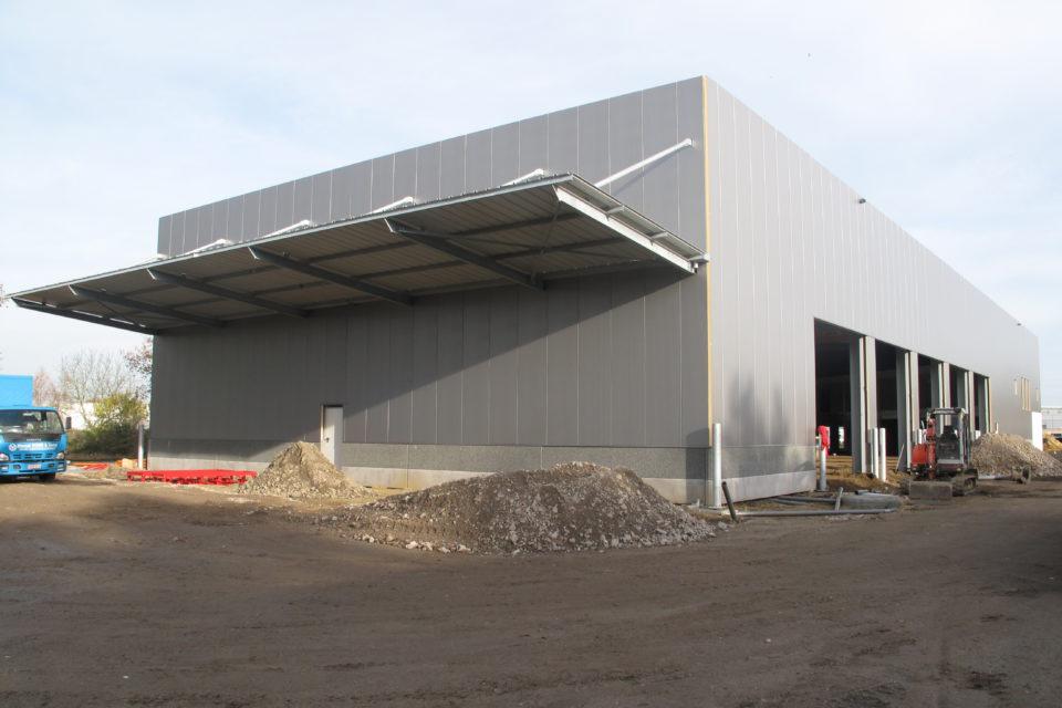 Almobé Industriebouw - Garage Kant Olen (6)