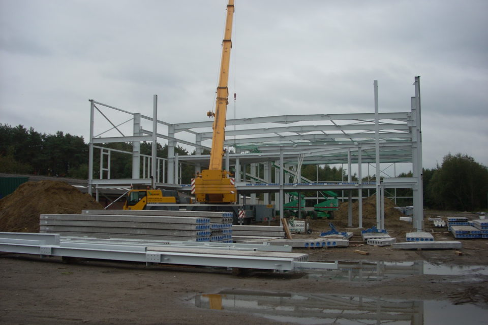 Almobé Industriebouw - Garage Kant Olen (7)
